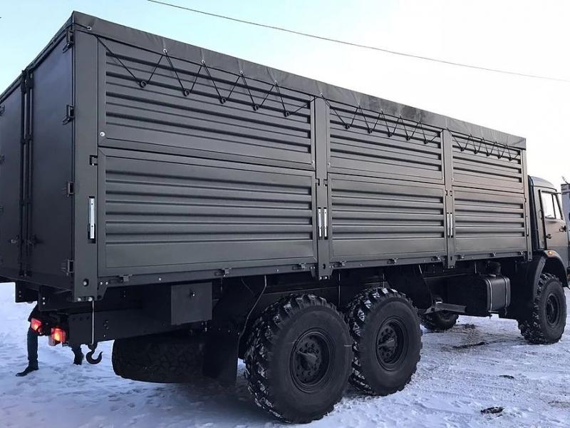 КАМАЗ-4310 зерновоз