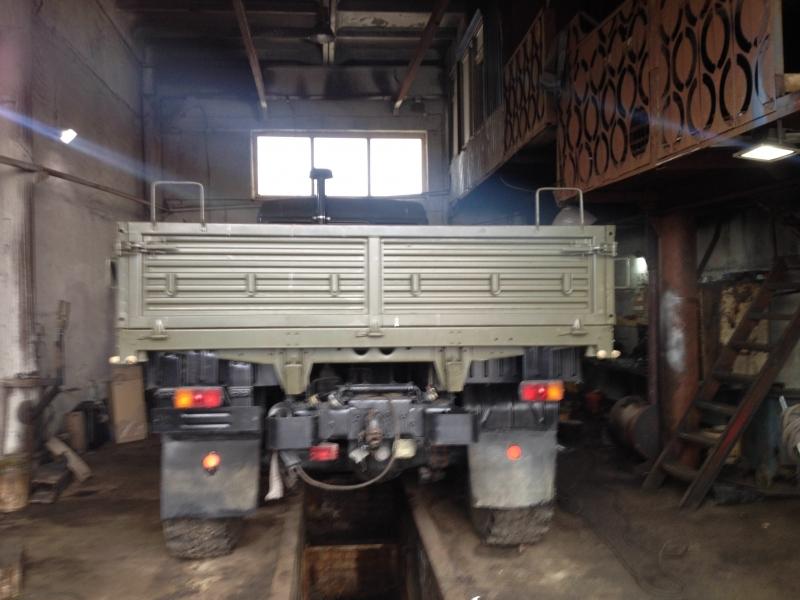Бортовая платформа КАМАЗ 4310