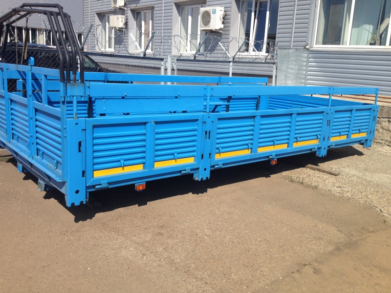Бортовая платформа Урал 4320