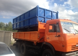 Бортовая платформа КАМАЗ 55102